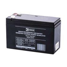 Zárt savas akkumulátor 12V/7Ah 151x65x95mm