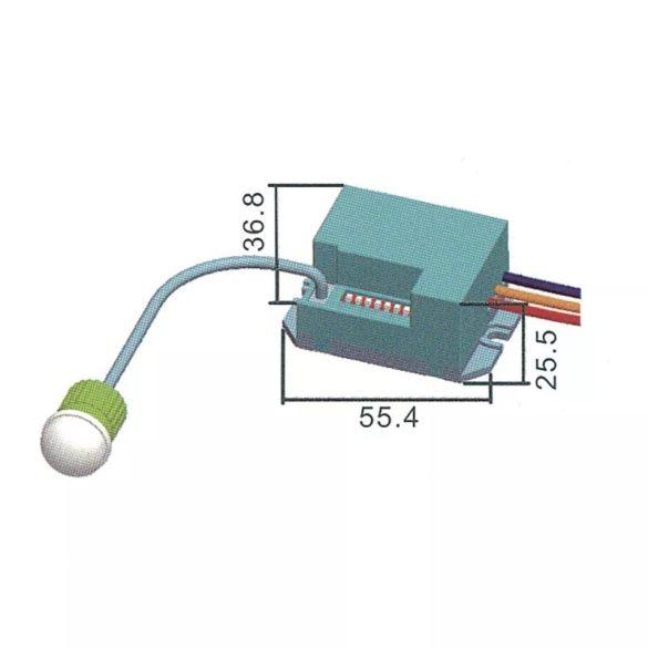 EMOS Mozgásérzékelő (PIR) IP20 6m 360°  G1110