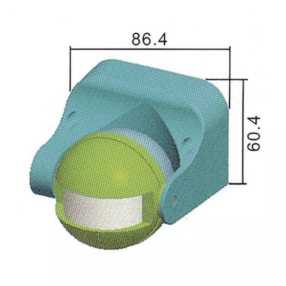 EMOS Mozgásérzékelő (PIR) IP44 12m 180° G1120