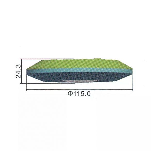 EMOS Mozgásérzékelő (PIR) IP20 6m 360° 115×115×25 mm  G1150
