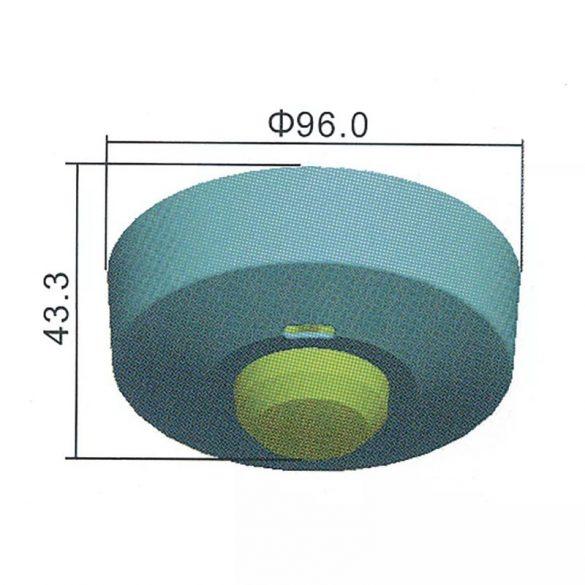 EMOS Mozgásérzékelő (MW) IP20 8m 360° G1180
