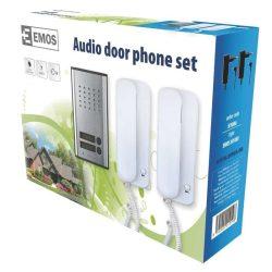 Kétlakásos audio kaputelefon