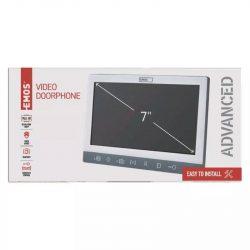 EMOS Videó kaputelefon beltéri egység EM-10AHD H3015