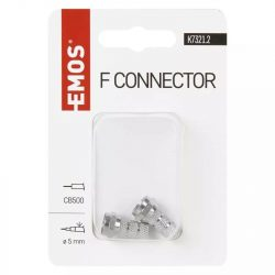 EMOS F Csatlakozó (CB500) K7321.2