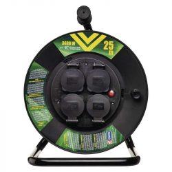 EMOS KÁBELDOB GUMI 4 ALJZAT 25M IP44 3x1,5mm P08225