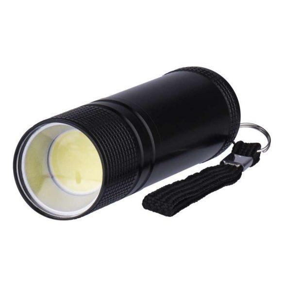 EMOS LED LÁMPA 3 W COB LED 3xAAA FEKETE