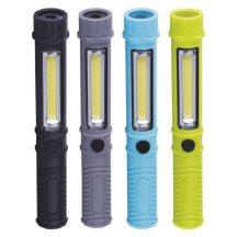 EMOS LED LÁMPA 3W COB LED + 1 LED 3x AAA
