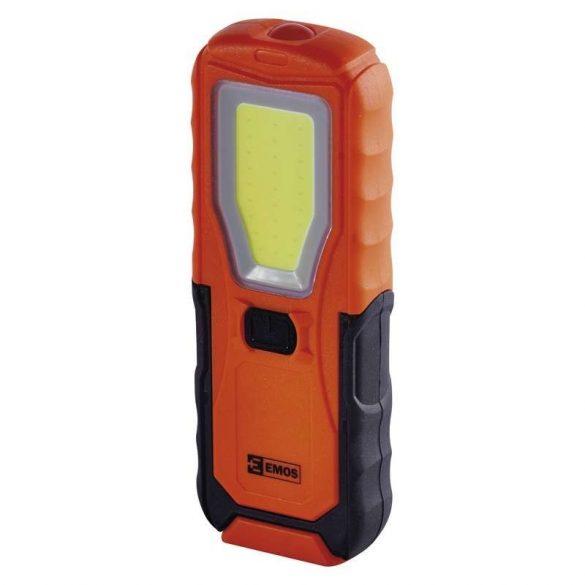 EMOS LED LÁMPA 5W COB LED + 1x LED 4xAA P4110