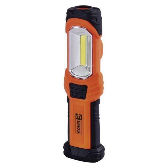 EMOS LED LÁMPA 3W COB LED + 1x LED 3xAA P4111