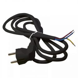 EMOS Szerelhető vezeték 3x1.0 2m fekete S18312