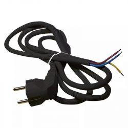 EMOS Szerelhető vezeték 3x1.5 2m fekete S18322