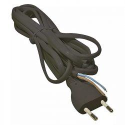EMOS Szerelhető vezeték 2x0.75 5m fekete S19275