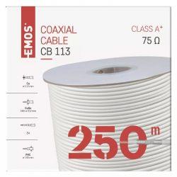 EMOS Koax kábel CB113 250m S5262