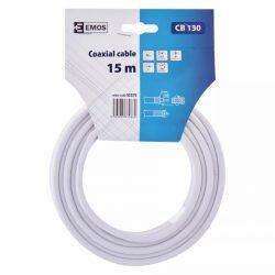 EMOS Koax kábel CB130 15m S5375