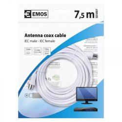 EMOS Antenna koax kábel 7,5m SD3007