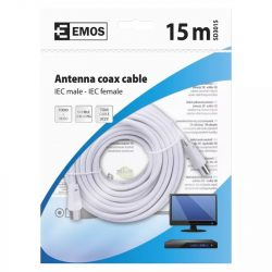 EMOS Antenna koax kábel 15m SD3015