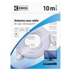 EMOS Antenna koax kábel 90° 10m SD3110
