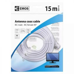 EMOS Antenna koax kábel 90° 15m SD3115
