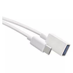EMOS USB kábel 3.0 A/F- C csatlakozó OTG 15cm SM7054