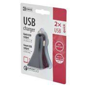 EMOS UNIVERZÁLIS USB TÖLTŐ 3 A (28,5 W) max. V0313