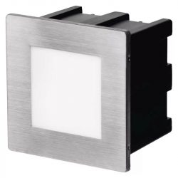 EMOS LED irányfény beépíthető, négyzet 1.5W IP65 természetes fehér ZC0111