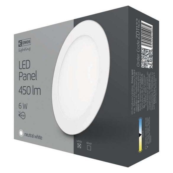 EMOS LED PANEL BEÉPÍTHETŐ 6W NW IP20