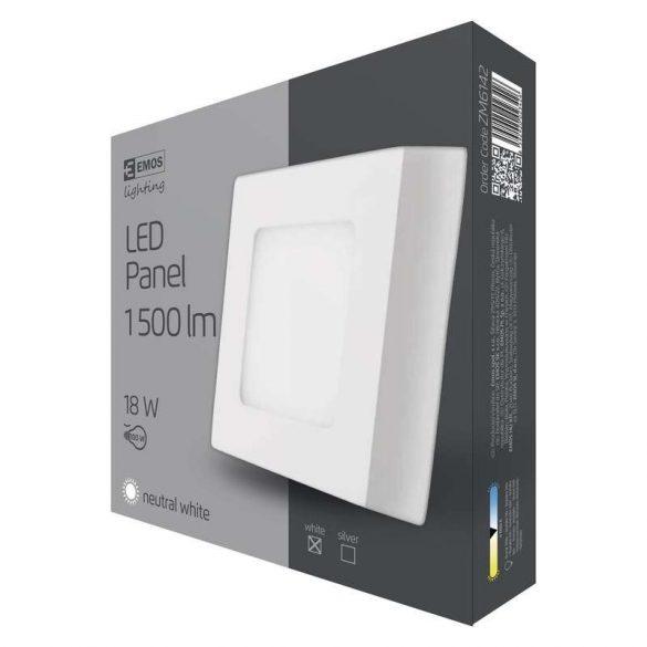 EMOS LED PANEL FALON KÍVÜLI 18W NW IP20