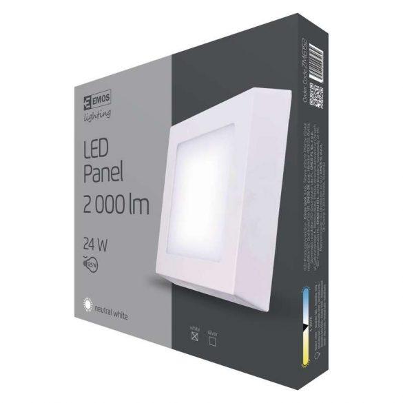 EMOS LED PANEL FALON KÍVÜLI 24W NW IP20 ZM6152