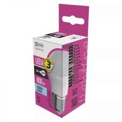 EMOS Classic LED izzó kisgömb E27 8W 806lm hideg fehér ZQ1132