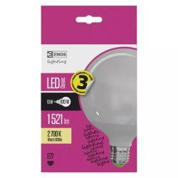 EMOS Classic LED izzó gömb E27 18W 1521lm meleg fehér ZQ2180