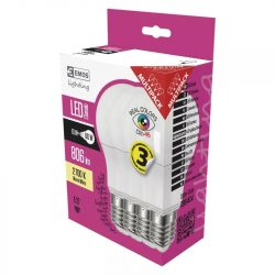 EMOS Classic LED izzó A60 E27 10W 806lm Ra95 meleg fehér 4db ZQ5147.4
