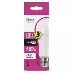EMOS Classic LED izzó A67 E27 20W 2452lm természetes fehér ZQ5181