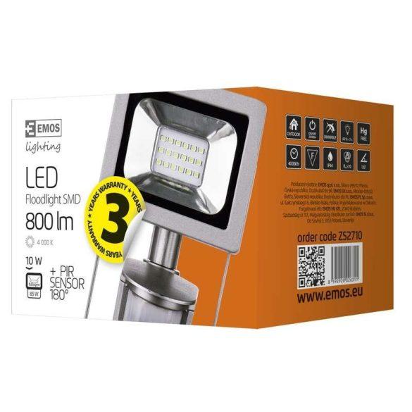 EMOS LED REFLEKTOR 10W PIR PROFI ZS2710