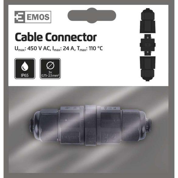 EMOS KÁBELCSATLAKOZÓ IP65 ZS9010