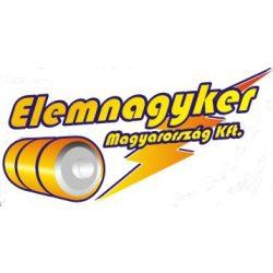 KARÁCSONYI DEKO GÖMB 12cm 1LED 3xAA IDŐZÍTŐ MELEG FEHÉR ZY2094