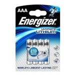 Energizer Ultimate LITHIUM L92 AAA mikró elem 1,5V BL/4