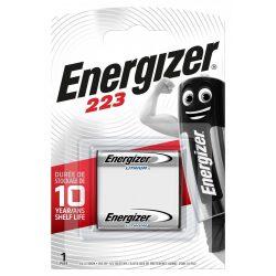 Energizer CR223 lithium elem CRP2 E223 6V bl/1