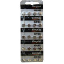 Energizer 364/363 (SR621SW) ezüst oxid gombelem 1,55V bl/20