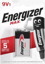 Energizer Max 9V-os elem (6LR61) bl/1