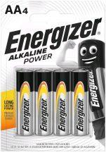 Energizer Alkaline Power AA ceruza alkáli elem LR6 bl/4