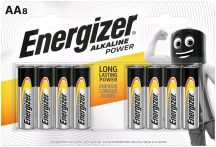 Energizer Alkaline Power AA ceruza alkáli elem LR6 bl/4+4