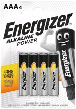 Energizer Alkaline Power AAA mikró alkáli elem (LR03) BL/4