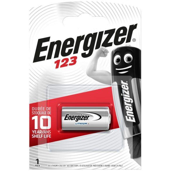 Energizer CR123 lithium elem 3V bl/1