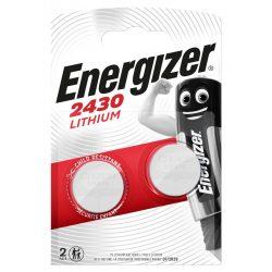 Energizer CR2430 lithium gombelem 3V bl/2