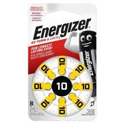 Energizer Zinc Air 10 (PR70) hallókészülék elem bl/8