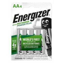 Energizer PowerPlus NI-Mh akku ceruza AA (HR6) 2000 mAh bl/4