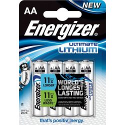 Energizer Ultimate LITHIUM L91 AA ceruza elem 1,5V BL/4