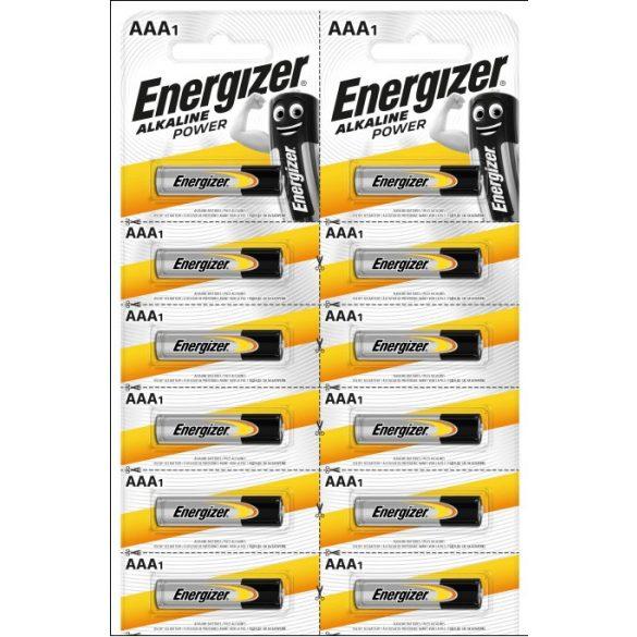 Energizer Alkaline Power AAA mikró elem (LR03) bl/12 Kartella