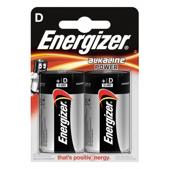 Energizer Alkaline Power D góliát alkáli elem (LR20) bl/2