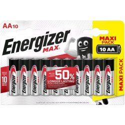 Energizer Max AA ceruza elem LR6 bl/10
